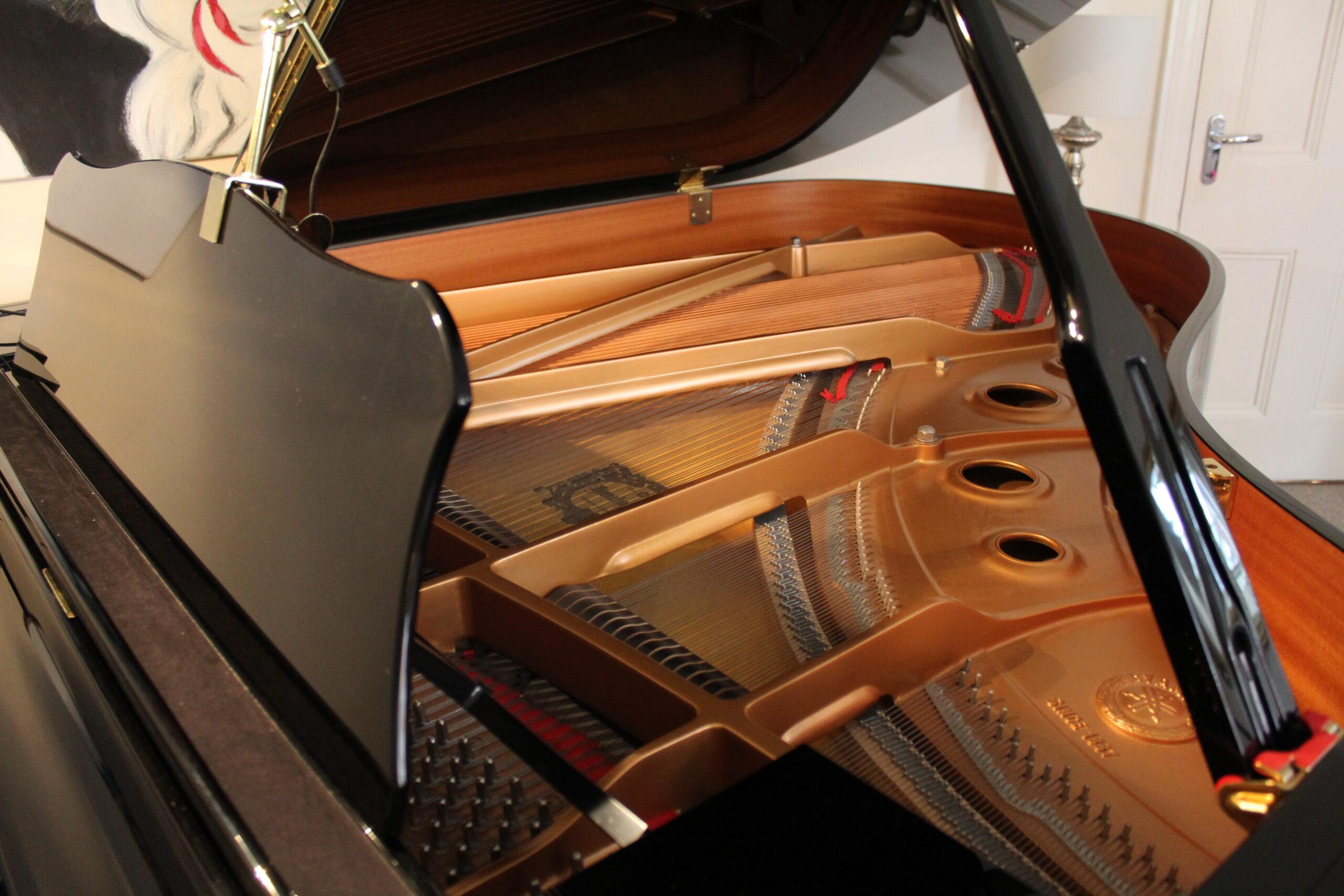 Setting up a piano recording studio