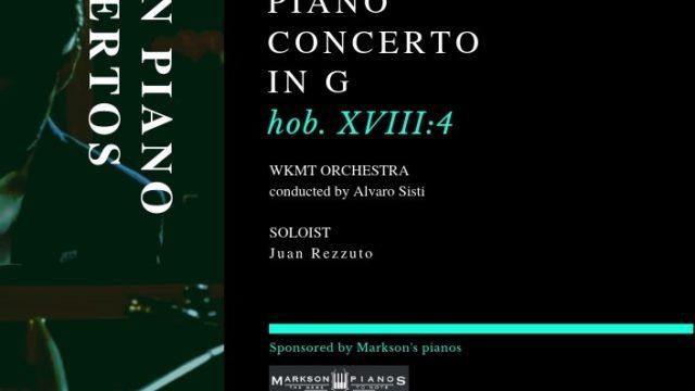 Haydn Concerto – Concert Recording Session